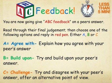 ABC Feedback 1
