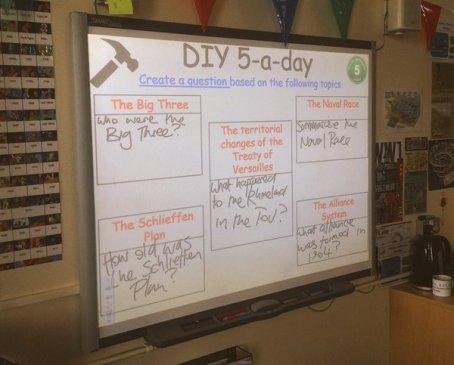 DIY 5-a-Day 1