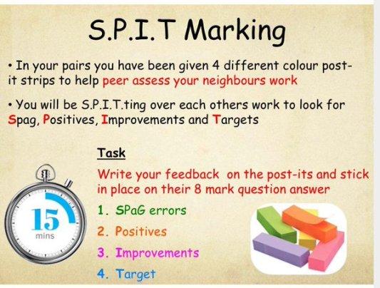 SPIT Marking
