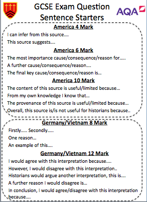 Sentence starters for year 8 students analyzing literature sentence starters array aqa exam sentence starters mat u2013 mrthorntonteach rh mrthorntonteach com fandeluxe Images